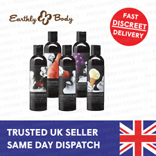 Earthly Body 100% Natural Fruity Flavoured Erotic Edible Massage Oil 60ml