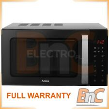 AMICA Amgf23E1Gfb 23 L Microwave Oven Digital Control 900 W Freestanding Compact