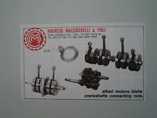 advertising Pubblicità 1978 MAURIZIO MAZZUCCHELLI - CAVARIA VARESE