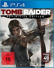Tomb Raider - Definitive Edition     PS4    Playstation 4    !!!!! NEU+OVP !!!!!