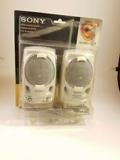 Sony SRS-PC41 Computer Speakers - New, Open box