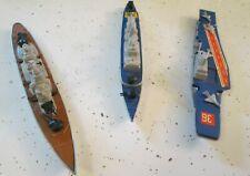 Set Of 3 Matchbox K-304 K-308 K-303 Sea Kings Diecast Naval Ships