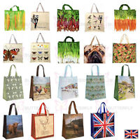 Womens' Mens' Large Quality Fold Up Shopper Bag Chic Shopping Reusable Tote Bag