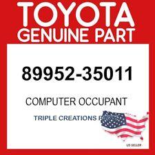 TOYOTA GENUINE 8995235011 COMPUTER, OCCUPANT DETECTION 89952-35011