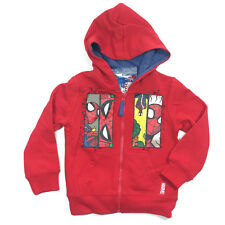 SPIDERMAN Pullover MARVEL Kinder Kaputzenpullover SUPERHELDEN Hoody