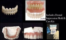 DIY Denture Kit False Teeth Upper/Lower Alginate Dental Impression & Cast Mold