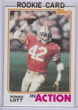 RONNIE LOTT San Francisco 49ers 1982 Topps VINTAGE ROOKIE CARD Football NFL RC
