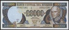 Ecuador 20.000 sucres 1999 PICK 129d (1)