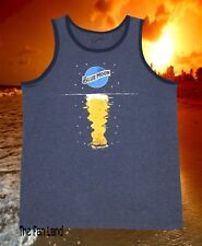 f14556015d084 New Blue Moon Beer On the Water Beach Classic Mens Tank Top T-Shirt