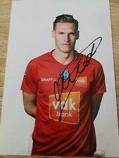 Thomas Kaminski KAA Gent- Signature Originale Photo 2019/2020 Football