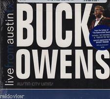 Buck Owens/Live from Austin TX (nuevo! original soldado)