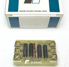 RELIANCE 0-54345 INPUT OUTPUT METER FILTER BOARD NEW IN BOX