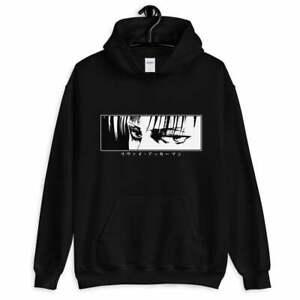 Levi Ackerman AOT Titan Hoodie Sweatshirt Anime Hoodie Manga Hoodie AOT Hoodie