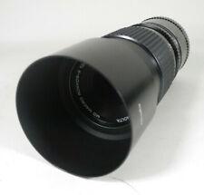 Minolta 100mm f4 Macro Rokkor-X Telephoto Lens