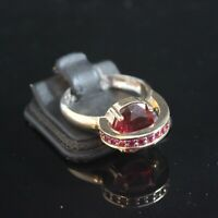 925 Sterling Silver Handmade Authentic Turkish Ruby Ladies Ring Size 7-10