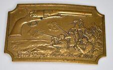 VTG Colt Army Model 44 Cal. 1860 Brass Belt Buckle 2nd Edition