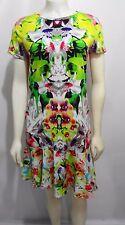 Prabal Gurung For Target Womens S First Date Print Drop Waist Mini-Dress