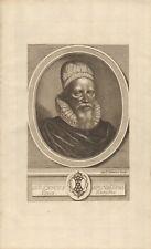 1776 Antiguo Print-Retrato-Sir Harry Spelman, anticuario