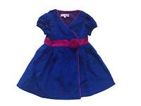 LOLA ET MOI - PROMO -70% - Robe portefeuille Precious bleu roi - Neuve étiquette