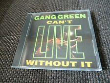 Gang Green Can`t Live without it CD sehr guter Zustand Emergo Records
