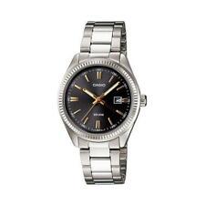 Orologio Donna CASIO LTP-1302D-1A2 Bracciale Acciaio Nero Classico Vintage