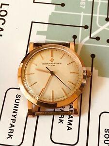 Genuine Vintage Vacheron Constantin Solid 18k Pink Gold men's watch,Ref 4824.