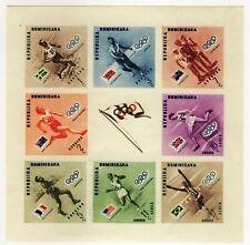 Dominikanische Republik Olympische Spiele Olympic 1956 Melbourne Block 7B MNH