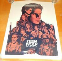 SDCC 2017 TEEN WOLF FOX MTV PROMO POSTER / PRINT REMEMBER 18 X 24