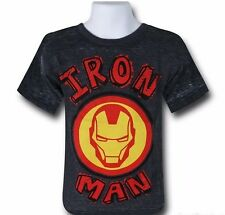 Marvel Iron Man Burnout Kids T-Shirt - 5/6 Yrs