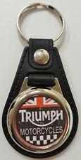 Vintage Look Triumph Logo Medallion Keyring, Brand New