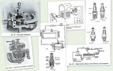 FARM GAS ENGINE HIT AND MISS VINTAGE BOOK MAGNETO CARBURETOR CART OILER REPAIR