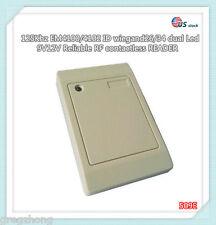 125Khz EM4100/4102 waterproof RFID WG26/34 dual Led Access Control Card READER