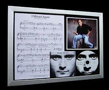 PHIL COLLINS I Missed Again GALLERY QUALITY CD FRAMED DISPLAY+FAST GLOBAL SHIP