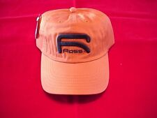 Ross Reels Hat Orange Raised Logo Caps GREAT NEW