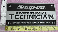 Genuine Official Snap On Tools PROFESSIONAL TECHNICIAN Sticker Decal - BRAND NEW