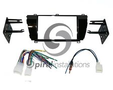Radio Stereo Mounting Installation Dash Kit Combo DD + Wire Harness TY50