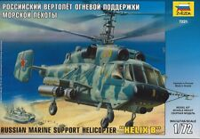 """ZVEZDA 7221 1:72 Russian Marine Support Helicopter """"HELIX B"""""""