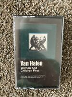 Van Halen - Women And Children First - Cassette Tape - VG+