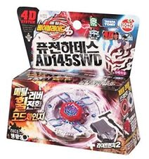 Takara Tomy 4D Metal Beyblade Fusion Hades AD145SWD Battle Top #BB123