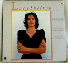 Lucy Shelton Messiaen Poemes pour Mi & Faure La Chanson d'Eve '85 Nonesuch SS LP