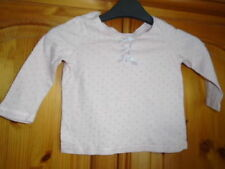 NEXT Spotted 100% Cotton T-Shirts & Tops (0-24 Months) for Girls