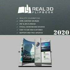 Real 3D Flipbook Pro ~ Create Realistic 3D Magazines, Catalogs, WordPress Plugin