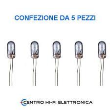 Lampada micro a filamento 6V 60mA 3,15 x 6,35mm confezione da 5 Pezzi