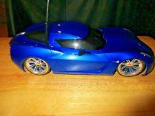 Jada Toys R/C Hyper chargers Corvette Stingray 49 Mhz Model #84209 works