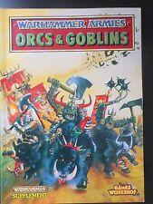 Warhammer Fantasy --  Warhammer Armies Orcs and Goblins (1993)