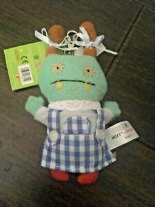 UGLY DOLL Wizard of Oz MOXY as DOROTHY Clip/Keychain NWT