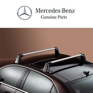 For Mercedes-Benz W204 C-Class Sedan Roof Rack Basic Carrier Genuine 2048901393