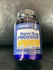 Super Beta Prostate P3 Advanced NIB SEALED, 60 Caplets, Ships Free New 08/2021