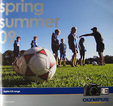 Olympus camera 2009 Spring / Summer sales catalog - E3 E30 E300 - more