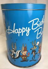 Happy Birthday Bugs 50th Anniversary Decorative Metal Tin 1989 Brach's England
